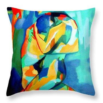 Embrace Throw Pillow