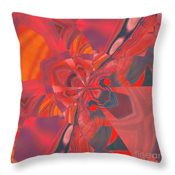 Throw Pillow featuring the digital art Emotion by A zakaria Mami