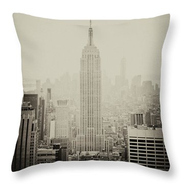 Empire Throw Pillow
