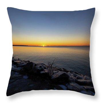 Empire Winter 1 Throw Pillow