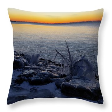Empire Winter 2 Throw Pillow