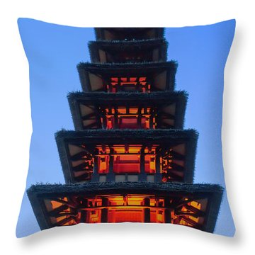 Enchanted Tiki Throw Pillow