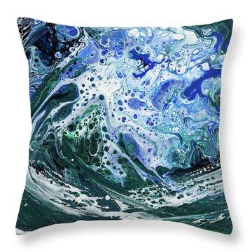 Enchanted Wave Throw Pillow