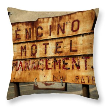 Encino Hotel Throw Pillow