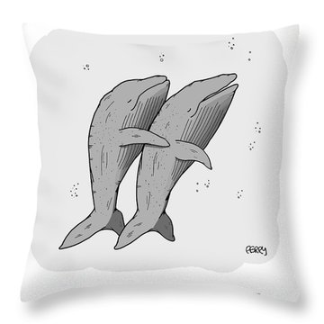 Enormous Spoon Throw Pillow