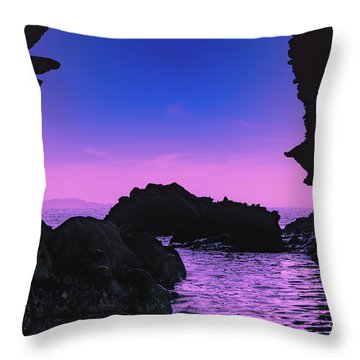 Espiritu Santo Island Throw Pillow