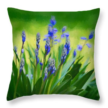 Essense Of Spring Throw Pillow