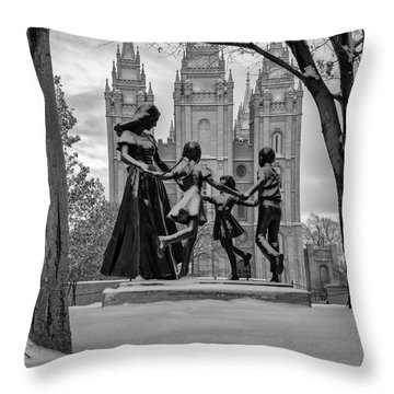 Eternal Family Throw Pillow