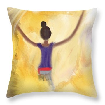 Eternal Presence Throw Pillow
