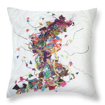 Etude In Fabric Throw Pillow