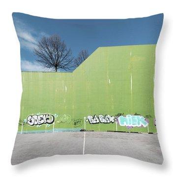 Euro New Topographics 26 Throw Pillow