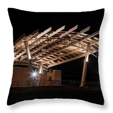 Evans Towne Center Park - Augusta Ga Throw Pillow