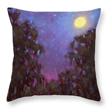 Evening Praise Throw Pillow
