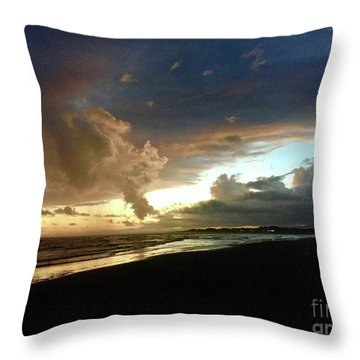 Evening Sky Throw Pillow