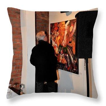 Exhibition - 08 Throw Pillow