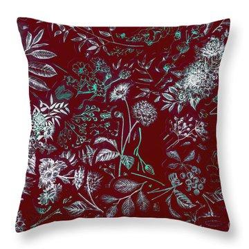 Exotic Harmony Throw Pillow