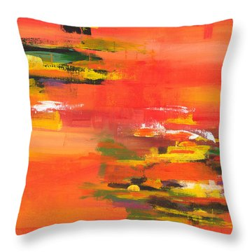 Exploring Evening Throw Pillow