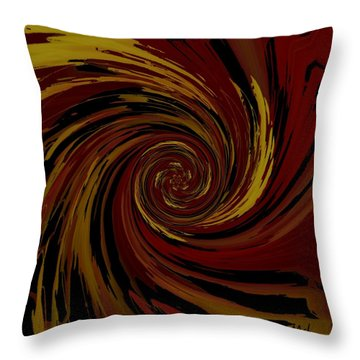Explosion  Crossroad  Throw Pillow