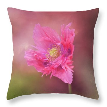 Throw Pillow featuring the photograph Exquisite Appeal by Dale Kincaid