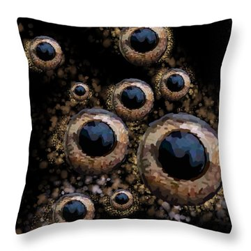 Eyes Have It 3 Throw Pillow