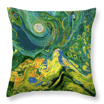 Eyes Of The Stars Throw Pillow