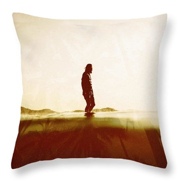Face The Sun 2 Throw Pillow