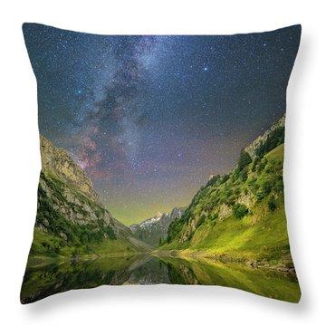 Faelensee Nights Throw Pillow