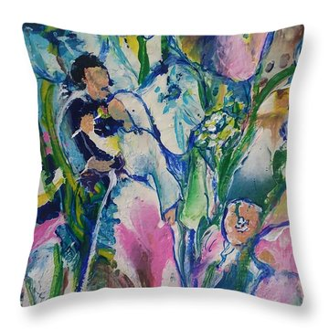 Fairest Among The Lilies Throw Pillow