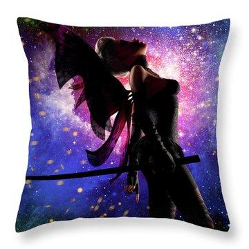 Fairy Drama Throw Pillow