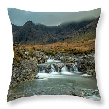 Fairy Pool  Throw Pillow