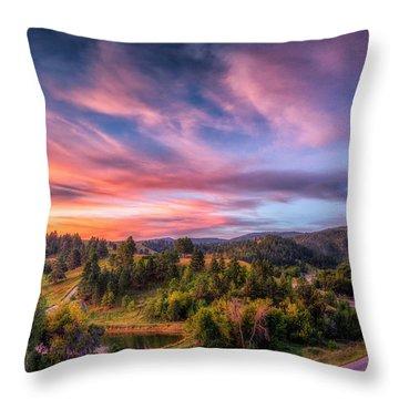 Fairytale Morning Throw Pillow