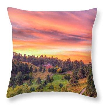 Fairytale Triptych 1 Throw Pillow