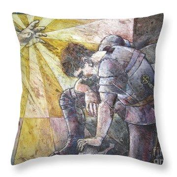 Faithful Servant Throw Pillow