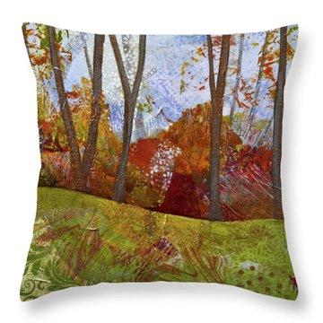 Fall Colors I Throw Pillow