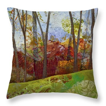 Fall Colors II Throw Pillow