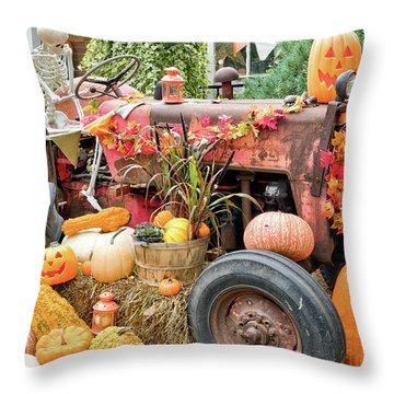 Fall Decor Throw Pillow