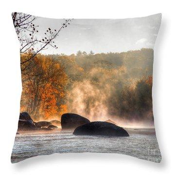 Fall Spirits Throw Pillow