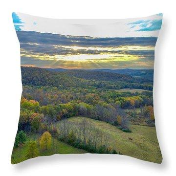 Fall Vibes  Throw Pillow