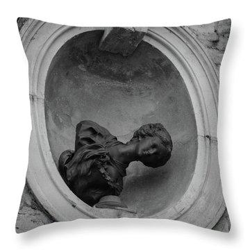 Fallen Goddess Throw Pillow