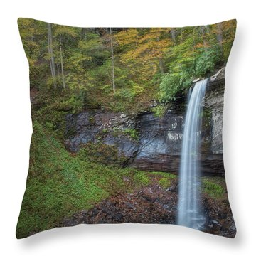 Throw Pillow featuring the photograph Falls Of Hills Creek by Russell Pugh