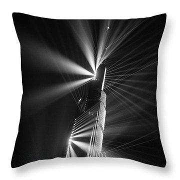 Fan Dance Throw Pillow