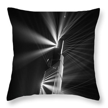Fan Dance Throw Pillow