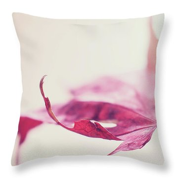 Throw Pillow featuring the photograph Fancy Flight by Michelle Wermuth