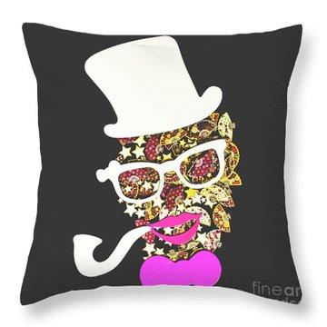 Fanfare The Clown Throw Pillow