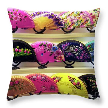 Throw Pillow featuring the photograph Fanned Out by Rick Locke
