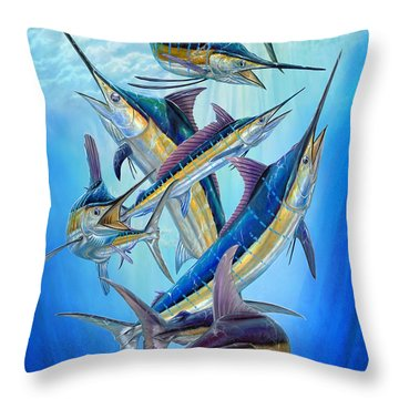Fantasy Slam Throw Pillow