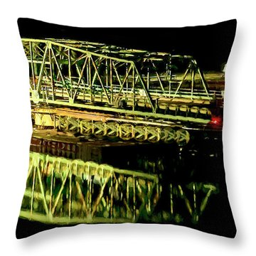 Throw Pillow featuring the photograph Farewell Old Friend by DJA Images