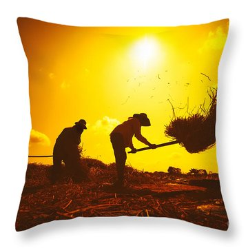 Cultivated Throw Pillows