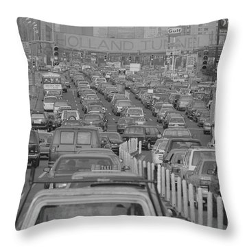 Holland Tunnel Throw Pillows