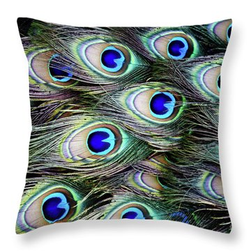 Throw Pillow featuring the photograph Feathers  by Awais Yaqub